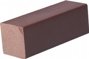 China High Strength Moisture Resistant WPC Accessories Solid Bar For Construction / Real Estate on sale