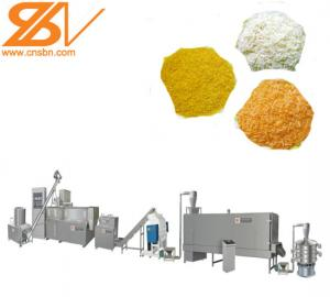 China Durable Food Extruder Machine Bread Crumbing Making Machine Extruder Processing Line on sale