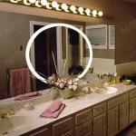 LED bathroom mirror,makeup mirror lighted