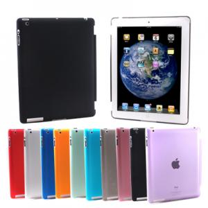 China Crystal Hard Shell Back Case Work with Smart Cover for New iPad 2 2G 3 3rd on sale
