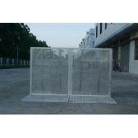 China Lightweight Road Traffic Barriers , Aluminum Temporary Pedestrian Barriers on sale