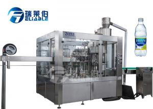 China PET Bottle Reliable Carbonated Drink Filling Machine With Washing And Capping on sale