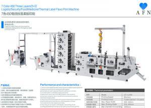 China 7 Colors Three Layers Automatic Printing Machine 1000mm Max Unwinding Diameter on sale