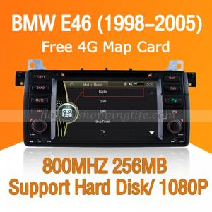 China Autoradio for BMW E46/ M3 - HD DVD GPS Navigation CAN Bus ISDB-T on sale