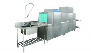 China Quick Cleaning Undercounter Commercial Dishwasher Self Propelled Glass Washer on sale