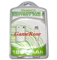 China XBOX 360 Rechargeable Battery Pack (GR-XB360-001) on sale