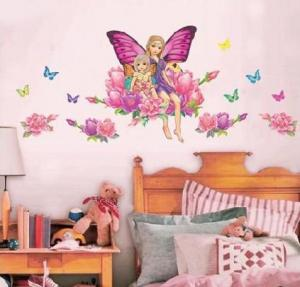 China eco-friend avaiable easy remove butterfly wall stickers for bedroom on sale