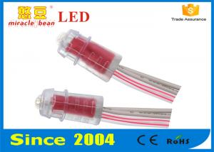 China Advertising Signboard Led String Lights Waterproof 9mm Red Color on sale