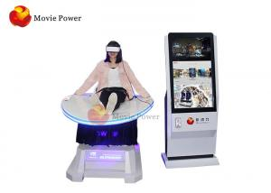 China Thrilling Game Experience Virtual Reality Game Machine Motion Chair VR Simulator Roller Coaster For Amusement Park on sale