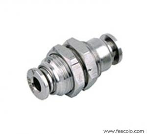 Quality SPM Stainless Steel Bulkhead Fitting for sale