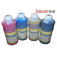 Drying Fast Inkjet Printer Ink , Solvent Ink Cartridges Good Adhesion 4 Colors