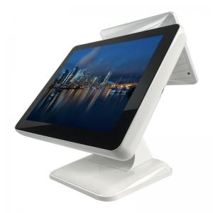 China Zero Bezel 15 Inch Touch Screen POS 1024x768 With Dual Screen on sale