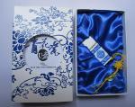 Movimentação azul e branca 08 da novidade criativa louca da porcelana de USB do flash