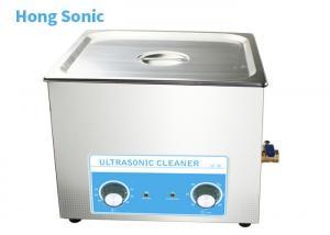 China Mechanical Control Stainless Steel Ultrasonic Cleaner 450 Watt Heating Power on sale