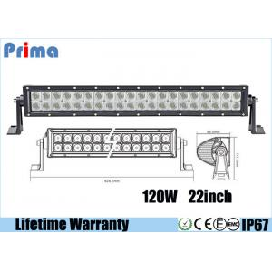 China 22 Inch 120W Led Spotlights Bar / Waterproof Dustproof Truck Led Light Bar on sale