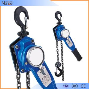 China HSHD Lever Electric Chain Hoist , Chain Hoist Lever Block For Construction on sale