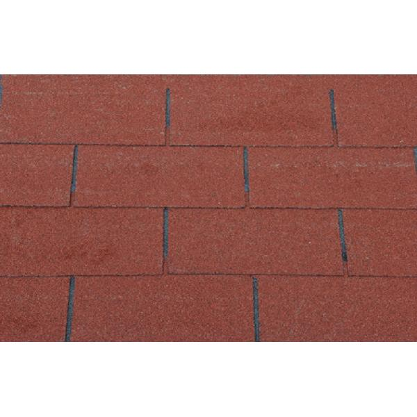 3 tab shingles red. House Fiberglass 3-Tab Asphalt Shingles , Green / Red Flat Roof Tiles 3 Tab
