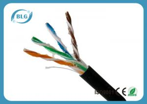 China Outdoor Cat5e Lan Cable , Computer Cat5e Network Ethernet Cable UTP With Oil 1000FT on sale