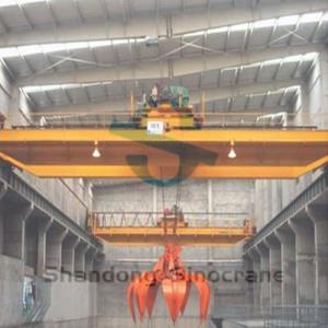 China BQZ Type Customer Design Explosion-Proof Double Beam Overhead Crane With Grab on sale