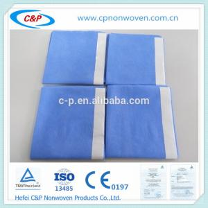 Quality Blue SMS sterile craniotomy drape pack with EO sterile for sale