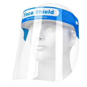China Anti Dizziness Elastic Headband Disposable Face Shield on sale
