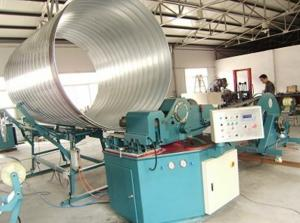 China F1600 Spiral Tube Bender Machine with Cold Bending for HAVC Air Duct , Tube  , Pipe on sale