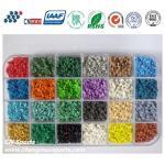 China Various Bright Colours UV Resistant  EPDM Rubber Granules wholesale