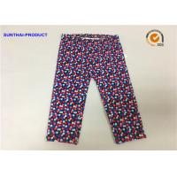 China Multi Colors Dots Cute Baby Girl Leggings Lycra Jersey Pants SGS Certified on sale