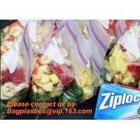 China Eco Friendly Resealable Small to Large Flat Food Packaging Clear Transparent PE Plastic Zip Lock Bags, Foil Zip Lock Foo on sale