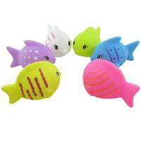 Mini Fish Shaped Plastic Baby Toys / Animals Swimming Toys for Toddler Bathing