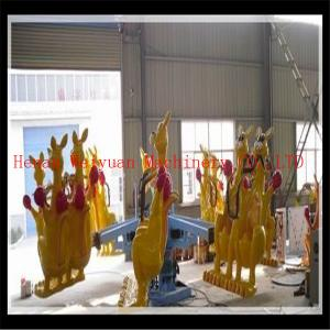 China Children playground rides lively jumping kangaroos for kids and adults on sale