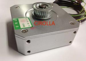 China White Color Sync Elevator Door Motor , Pmsm Motor With Reliable Performance on sale
