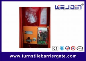 China High Speed Automatic Barrier Gate Parking Gate Arm with Red Color Housing on sale