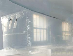 China Competitive Price 100% LDPE HDPE Large Virgin Anti Fog Film Roll for Flexitank Liner/ Bulk Cargo/Greenhouse Film on sale