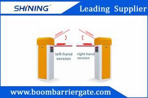 China Sliver / Orange Color Car Parking Barrier Gate For Community Vehicle Entrance on sale