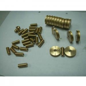 China CNC Machining Precision Micro Worm Gear on sale