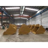 Mining Use 13 Ton Excavator Buckets , Mini Excavator Cleanout Bucket 0.4-3 Cubic Meter