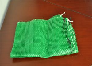 China Rede tecida da gaze do produto da malha sacos plásticos seguros para cebolas e a batata de empacotamento on sale