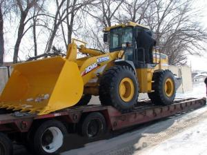 China LW600K XCMG Heavy Construction Machinery Wheel Loader With 3.5-4.5M³ Bucket on sale