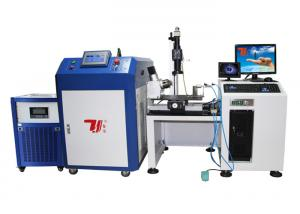 China 4 Axis Automatic Precision Welding Machine / Laser Soldering Equipment on sale