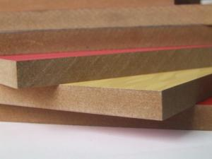 1220*2440mm Melamine mdf Melamine Board 18mm White Melamine MDF