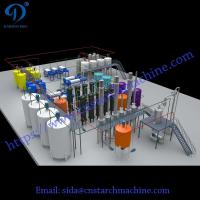 Fast delivery corn glucose syrup machine professional cassava glucose syrup production line