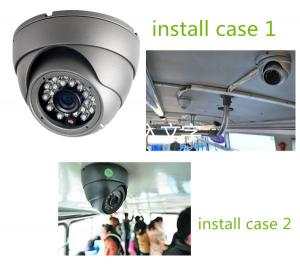 China 2MP Vehicle Mounted Cmos Reverse Camera / Mini dome camera With 3.6mm Lens IR Lamps on sale