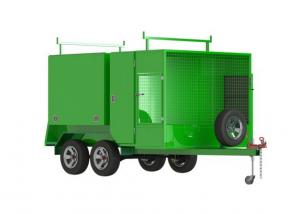 China Flexible And Versatile Dual Axle Lawn Mowing Trailer 8 X 5 Ft With Brake Away System on sale