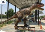 Jurassic Park Life Size Realistic Dinosaur Models / Animatronic Rubber Models Display