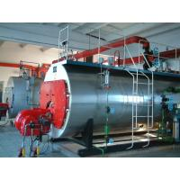 Corrugated Furnace Oil Fired Steam Boiler , High Efficiency Natural Gas Steam Boiler