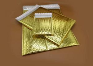 China Custom Printing Silver Metallic Bubble Mailers 6*9 inch Size on sale