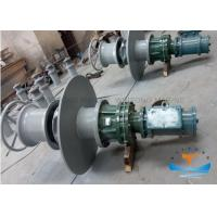 50t HydraulicMarine Capstan Winch 15kwMotor Power With DNV Certificate