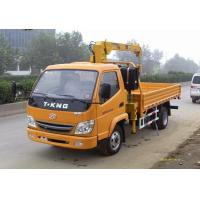 High Capacity 7 Ton Truck Loader Crane For Construction ISO Standard