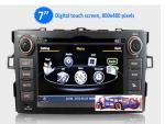 Car Stereo DVD GPS for Toyota Auris Corolla Satnav Autoradio Multimedia GPS iPod